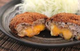 Японские котлеты с сыром