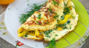 Омлет с овощами и сыром в мультиварке