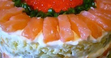 Этот салат будет главным на Вашем праздничном столе