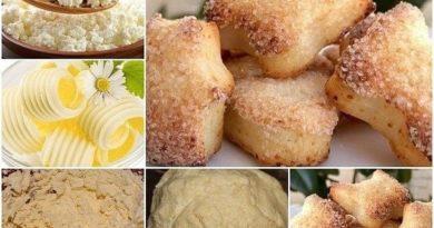 Обязательно попробуйте очень простой и в тоже время вкусный рецепт печенья к чаю