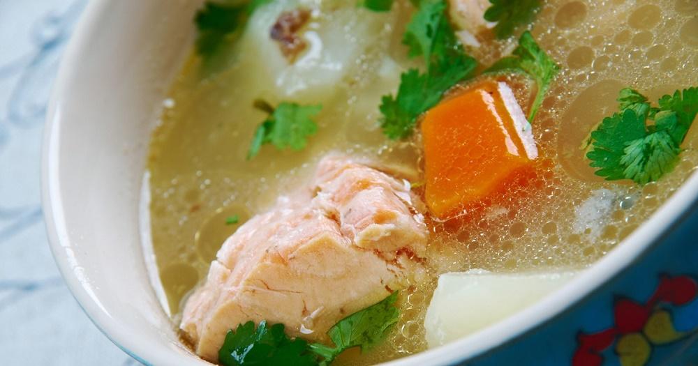 Узбекский рыбный суп
