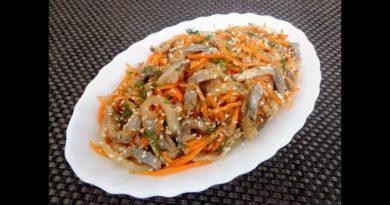 Удивительно вкусная селедка по корейски
