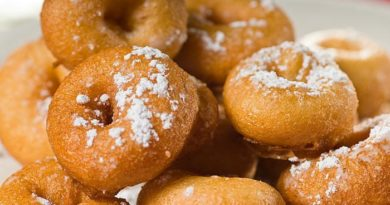 Пончики на сгущёнке