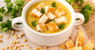 Изумительно ароматный гороховый суп