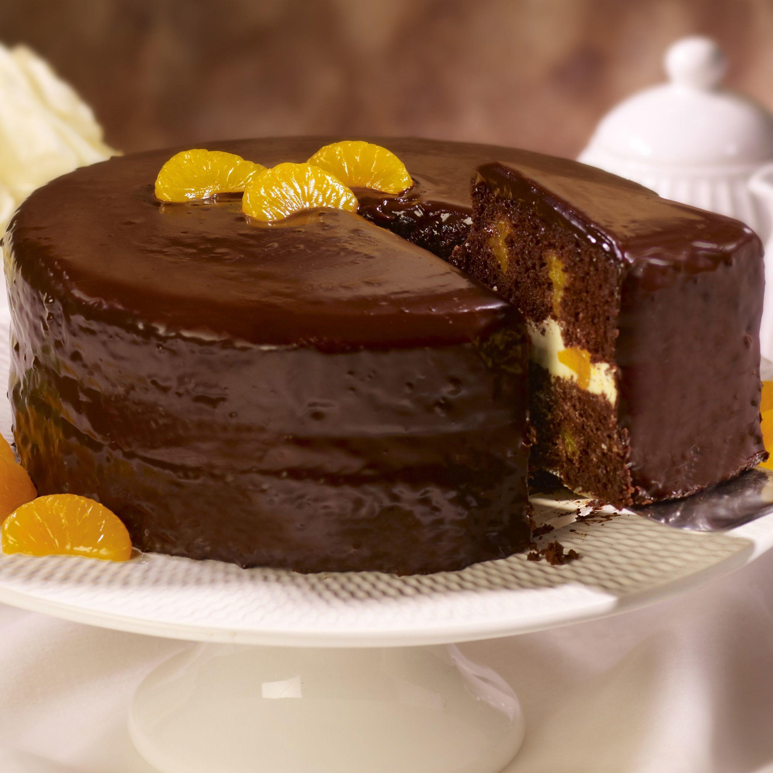 Апельсиново шоколадный торт рецепт с фото