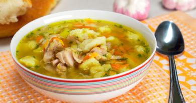 """Суп с клецками """"Домашний"""""""