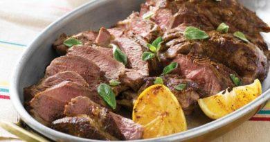 Баварское жаркое из маринованного мяса