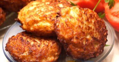 Куриные котлеты со сливочно-ореховой начинкой