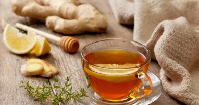 Имбирный чай - простуда долой