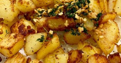 """Чесночная картошка """"Объедение"""" в духовке"""