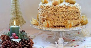 Новогодний торт «Каприз»