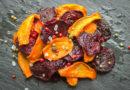 Овощные чипсы из свёклы и моркови
