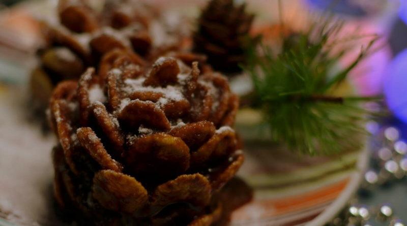Пирожное «Зимняя шишка»