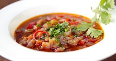Аджапсандали Овощной суп