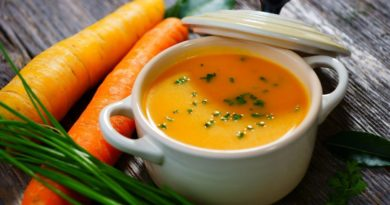 Морковный легкий суп
