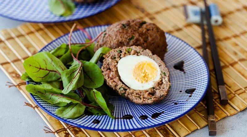 Яйца в шубе по-вьетнамски
