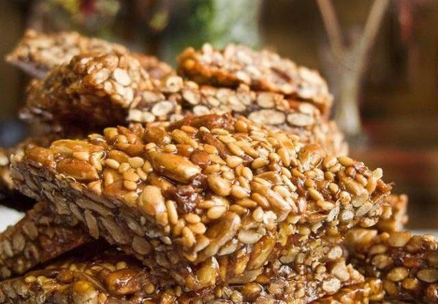 Козинаки из орехов или семечек