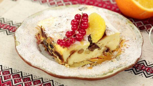 Пирог из паски