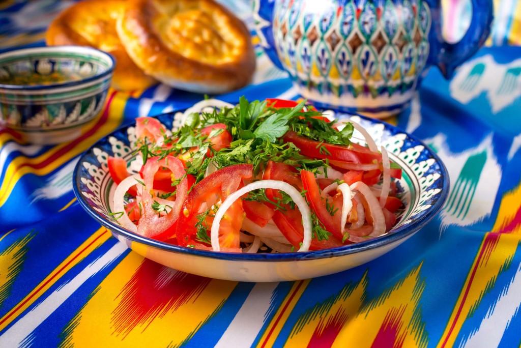 узбекские салаты рецепты с фото связано