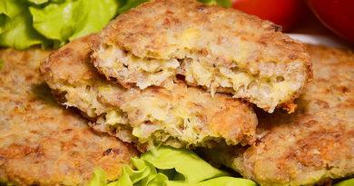 Котлеты из гречки с сыром