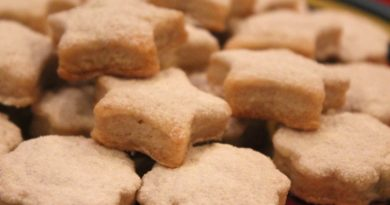Домашнее печенье на свином жире
