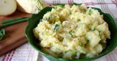 Швейцарское картофельное пюре с капустой