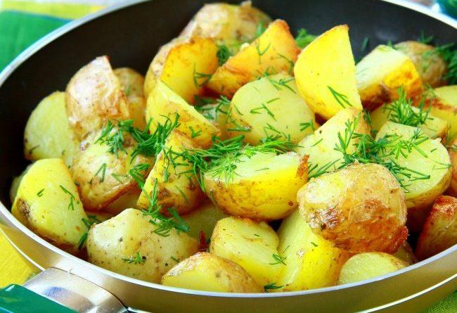 Самая вкусная вареная картошечка