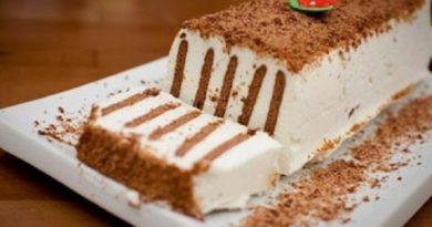 """Торт """"Полосатик"""" без выпечки"""