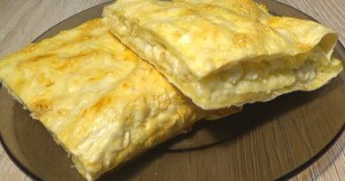 Ленивые хачапури из лаваша с сыром и творогом