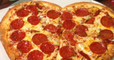 Пицца для влюбленных