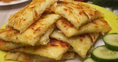 Завтрак из картофеля