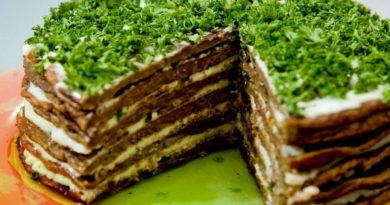 Печёночный торт № 41