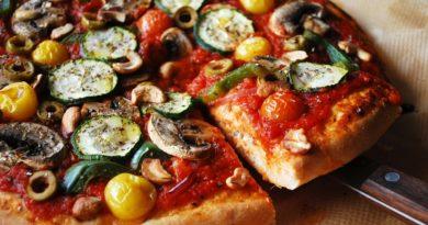 Мастер-класс: постная пицца