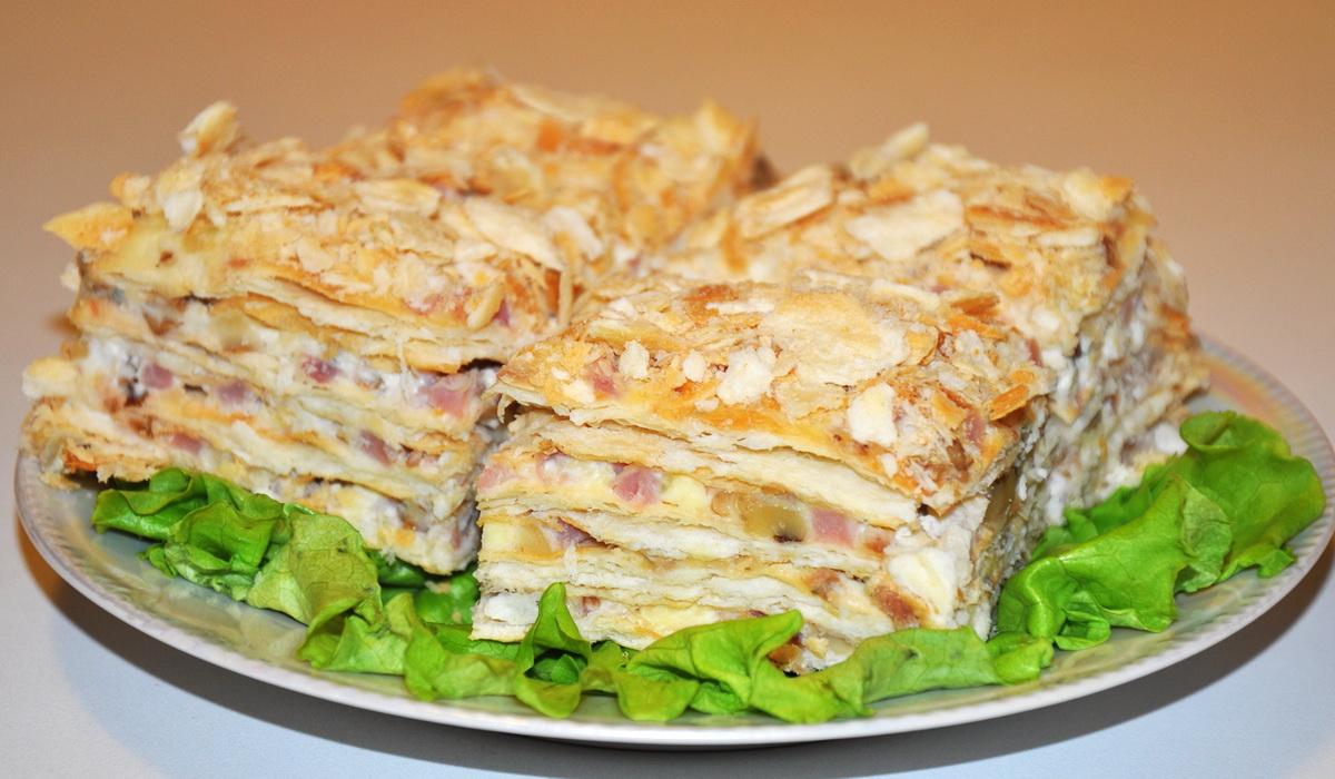Торт наполеон с пошаговым рецептом и фото для обгона