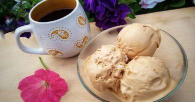 Домашнее мороженое а-ля крем-брюле