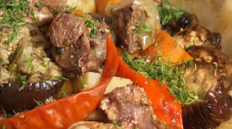 """Говядина из """"Узбекской кухни"""""""