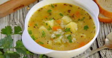 Пикантный рисовый суп