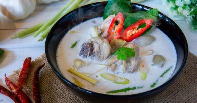 """Тайский суп """"Том Кха Кай"""""""