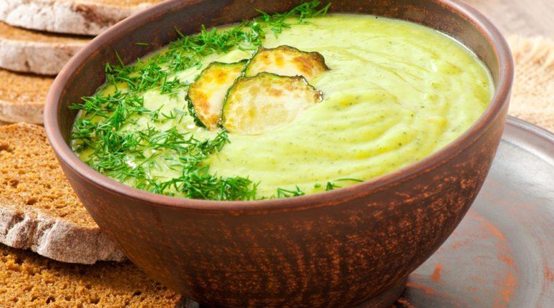 Пюре из цукини и картофеля с сыром