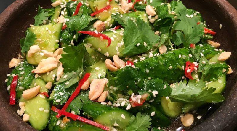 Китайский огуречный салат