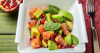 Салат с грейпфрутом - 2