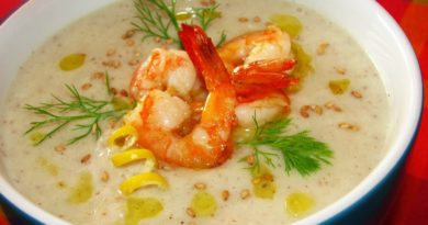 Крем-суп из креветок