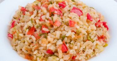 Рис по - болгарски