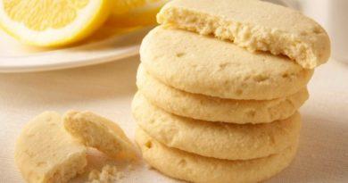 Замечательное домашнее печенье со вкусом и ароматом лимона