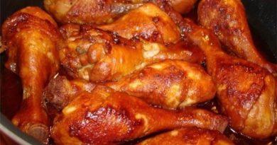 Куриные ножки с медом