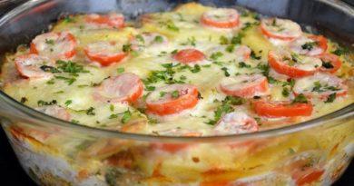 Отличный рецепт приготовления ароматной картофельной запеканки с фаршем и овощами