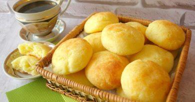 Очень вкусные, просто изумительные бразильские сырные булочки