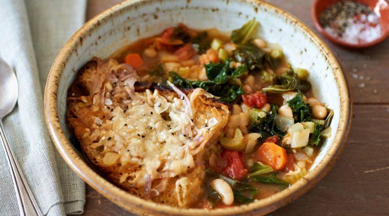 La RIBOLLITA - овощной суп на хлебе