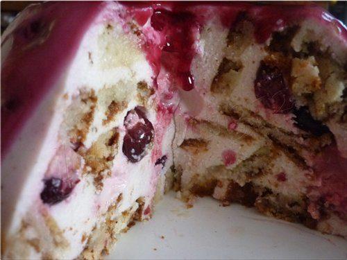 """Быстрый торт """"Кисельные берега..."""""""