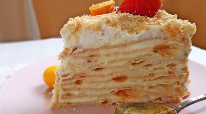 "Торт ""Наполеон с пломбиром"""